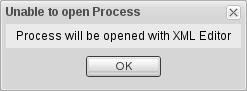 Invalid Process Error Prompt