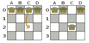 Planner 6.0 N Queens single move image.