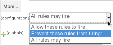 Configuration rules option for JBoss BRMS Test Scenario features