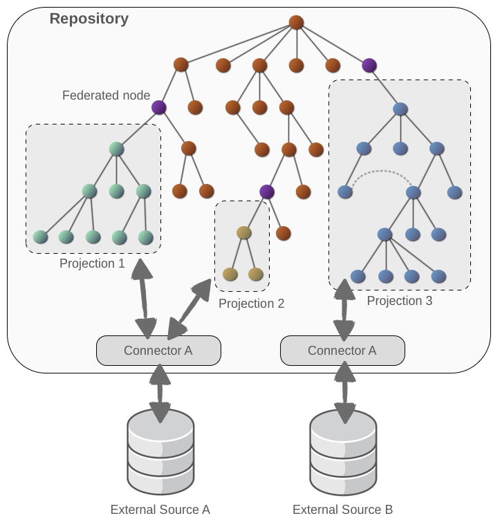 Federated Repository