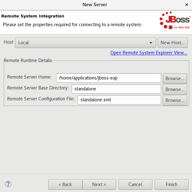 Connect to a Remote System