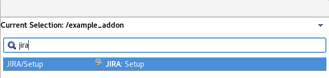 Add-on Listed in the Forge Context Menu