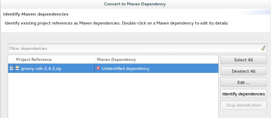 Unidentifiable Dependency