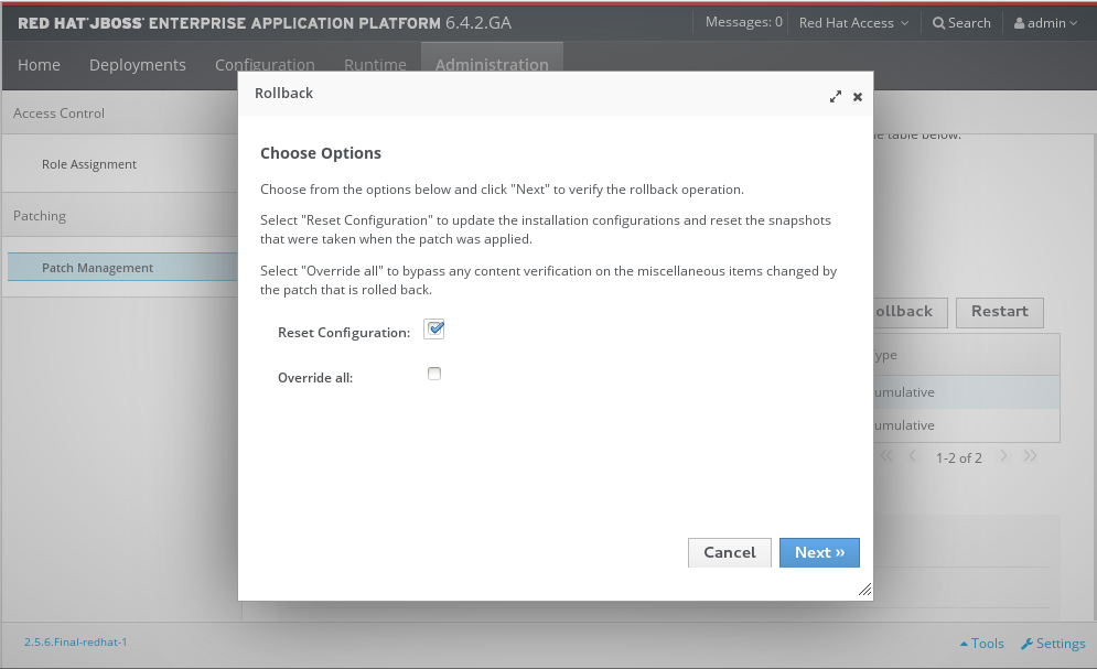 3 2  Patching JBoss EAP 6 - Red Hat Customer Portal