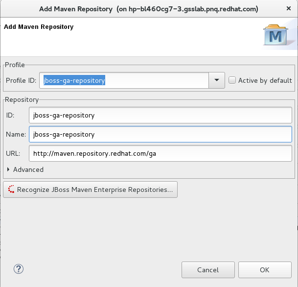 Chapter 2  Using Maven with JBoss EAP - Red Hat Customer Portal