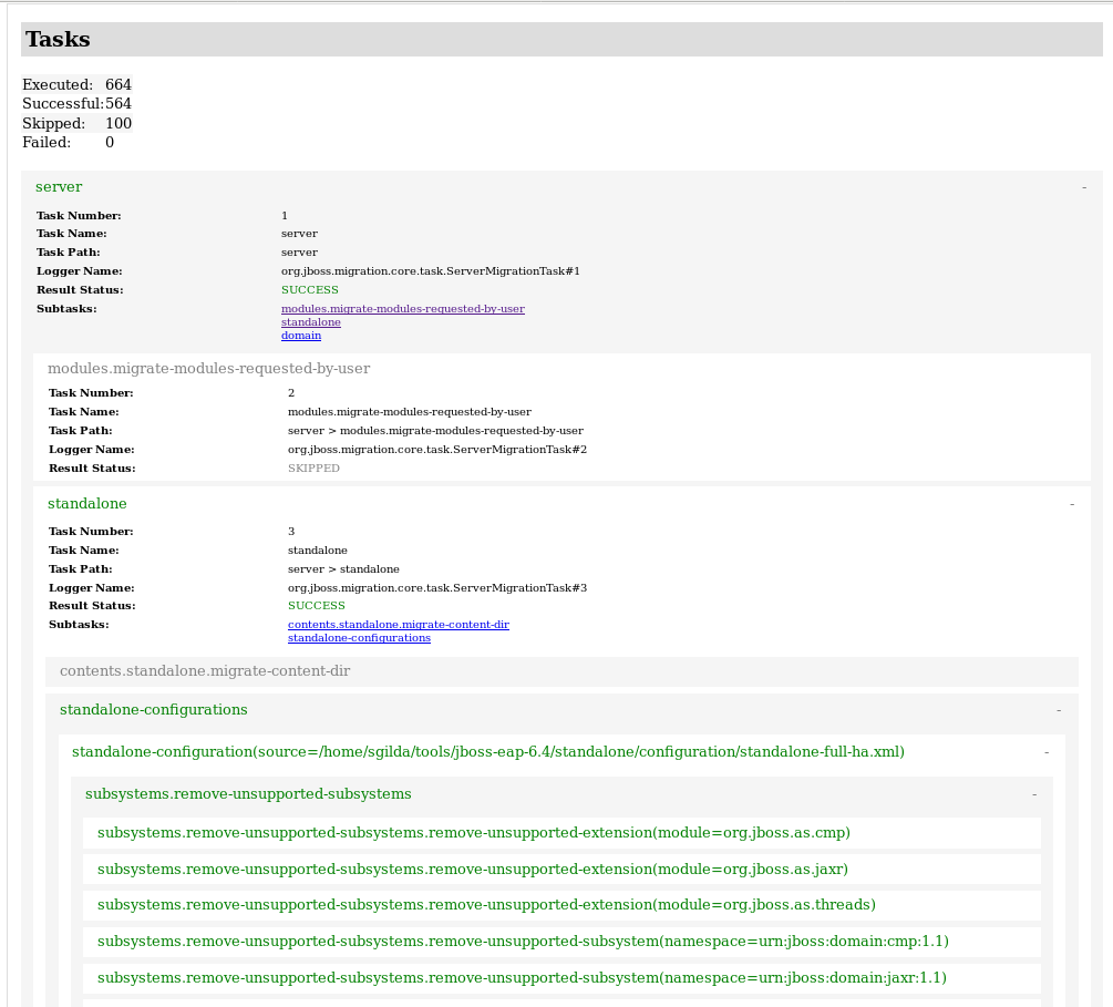 Example HTML Report