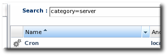 Basic Table Sorting on the Server Resources List