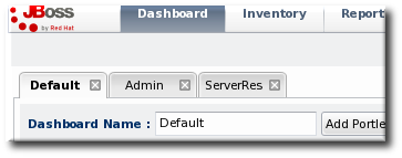 Tabbed Dashboards