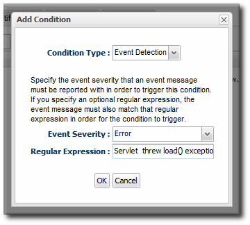 Log File Conditions
