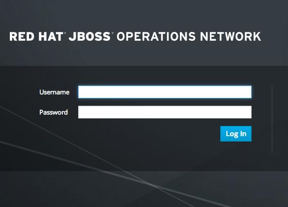 Logging into JBoss ON