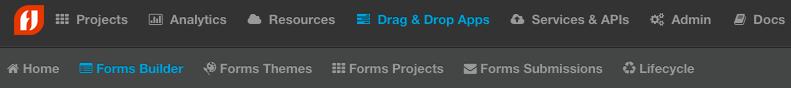 Forms Builder