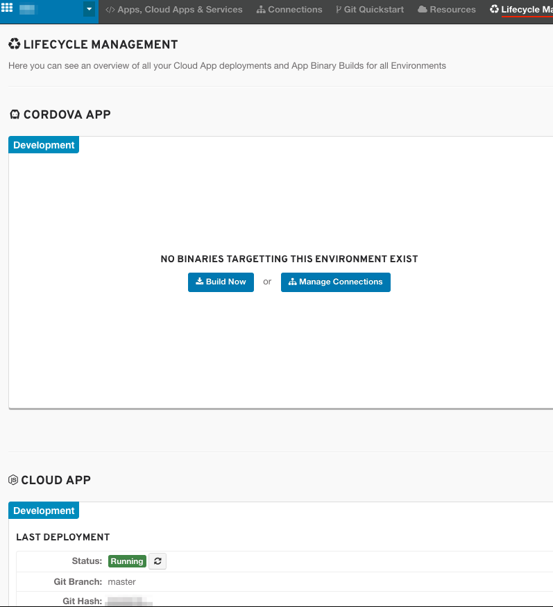 OpenShift Online Lifecycle Management