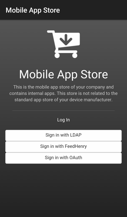 App Store Login