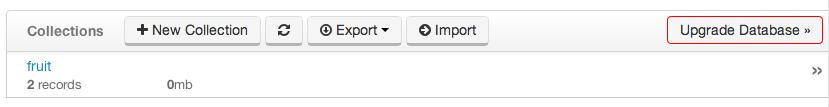 Upgrade Database