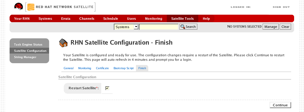red hat satellite server admin guide