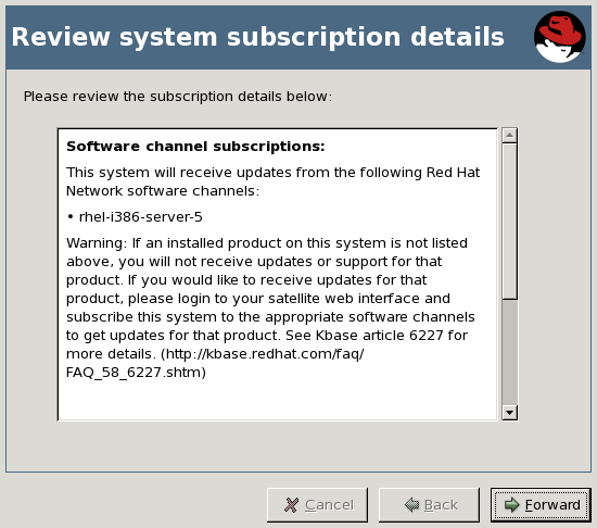 Review System Subscription Details