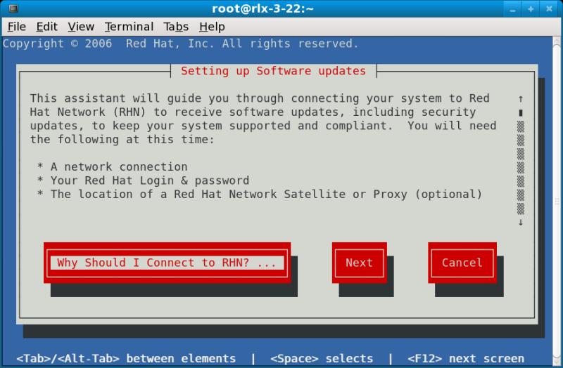 rhn_register Command-line version