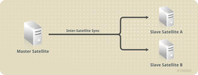 Slave 衛星伺服器的維護方式與 Master 衛星伺服器相同。