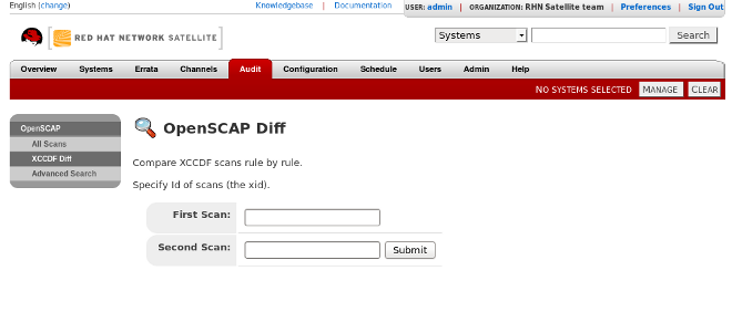 Audit ⇒ XCCDF Diff