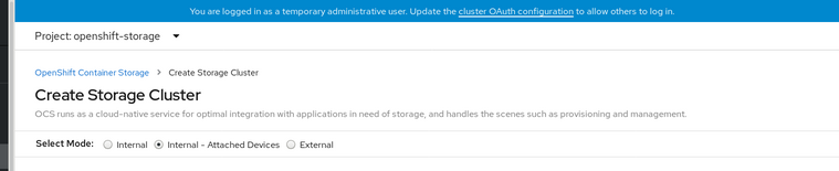 Screenshot of Create Cluster Service page