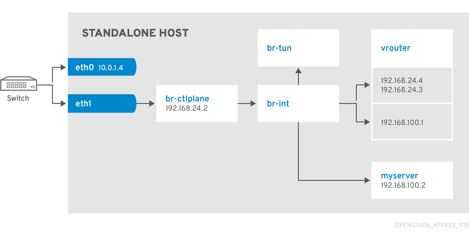 Standalone2NIC Tenant Provider