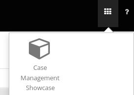 apps launcher showcase button
