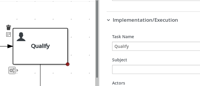 task name