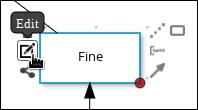 decision node edit