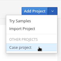 select case proj