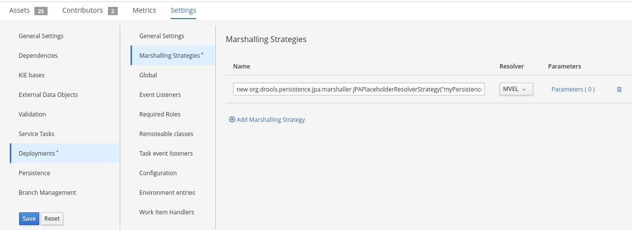 jpa marhsalling strategy