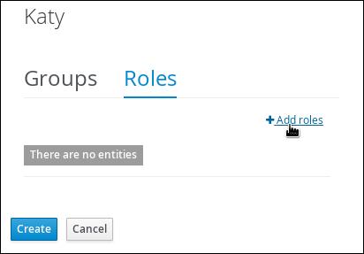 Add roles menu location