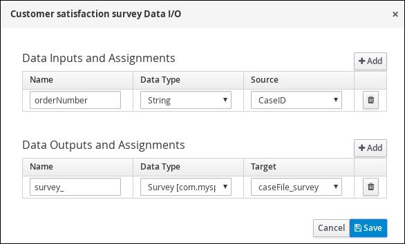 survey I/O values