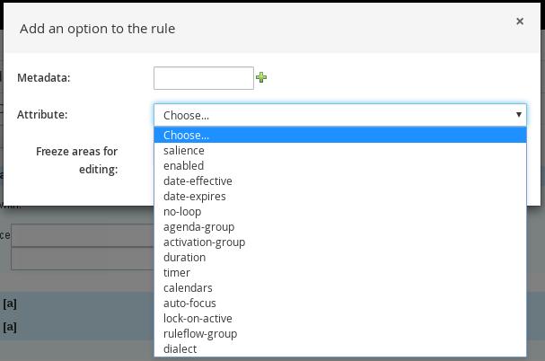Additional rule options
