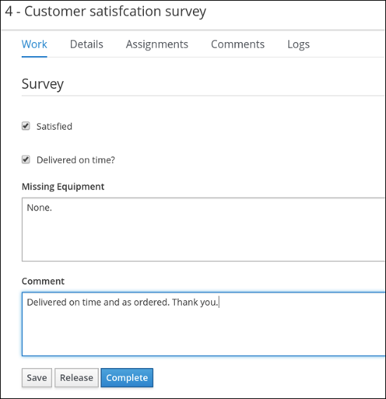 itorders complete survey
