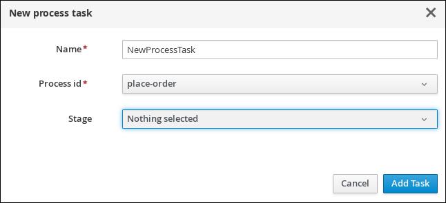 showcase dynamic process task