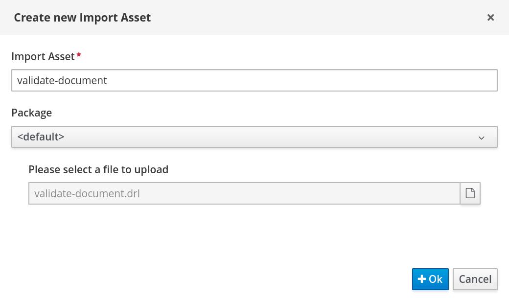case management validate document upload