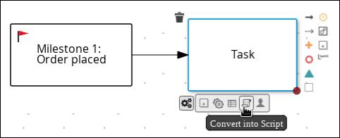convert to a script task