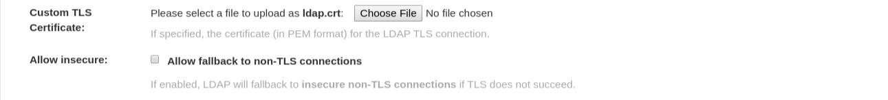 LDAP server SSL