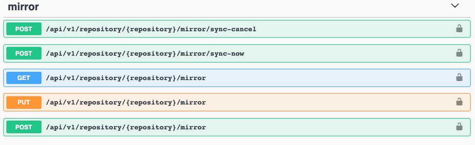 Mirror API