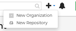 Create a new repository for a user.