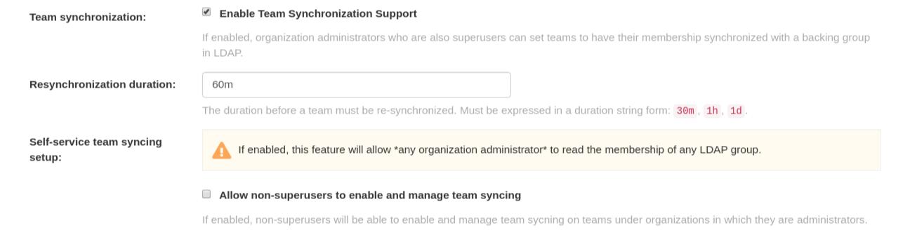 Team synchronization