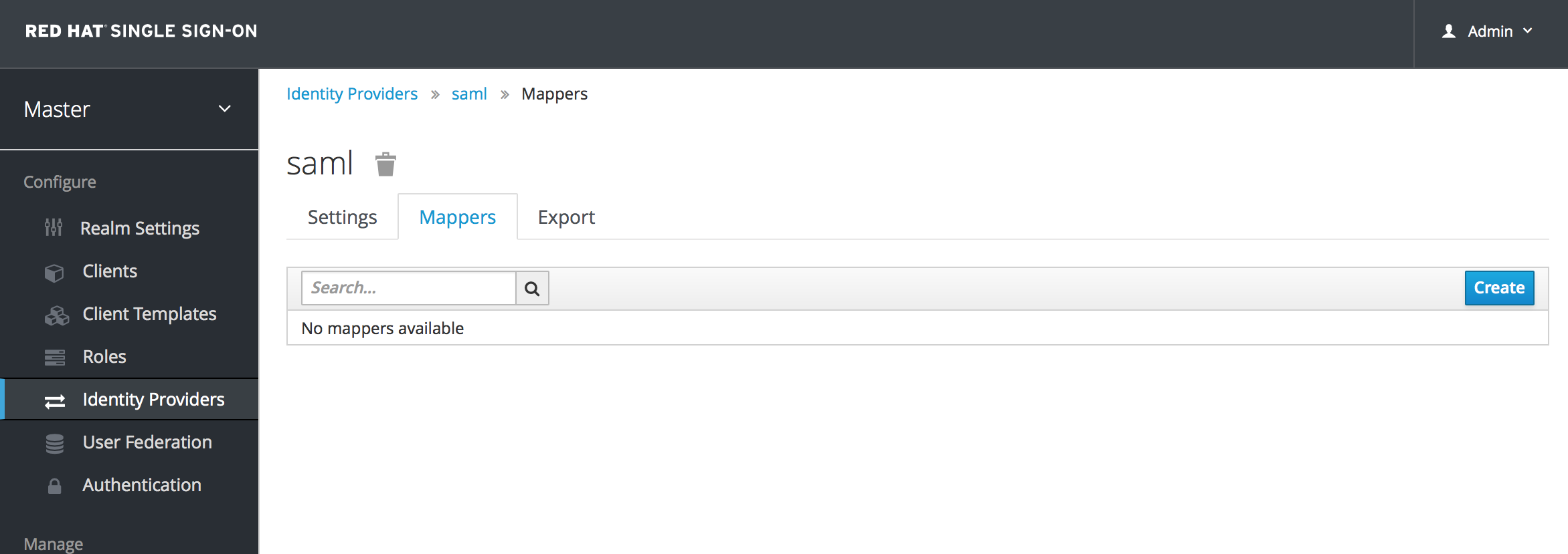 identity provider mappers