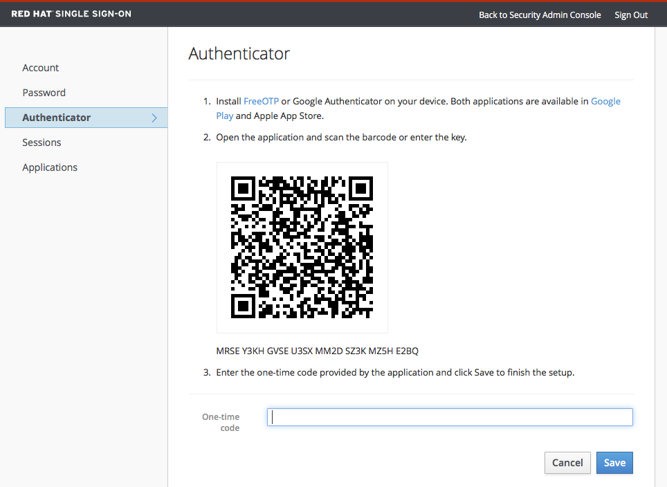 account service authenticator
