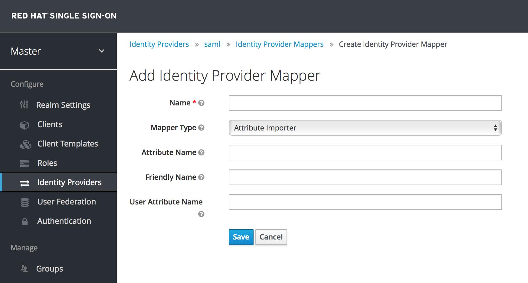 identity provider mapper