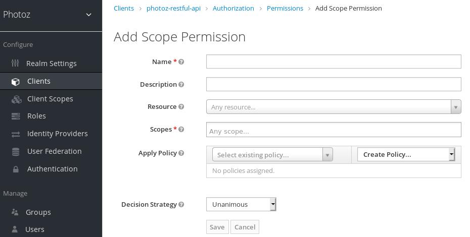 Add Scope-Based Permission