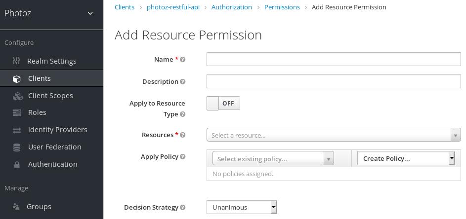 Add Resource-Based Permission