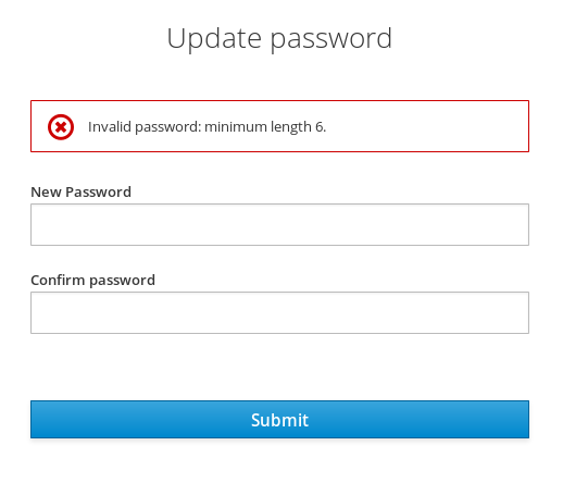 failed password policy