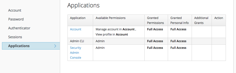 account service apps