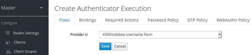 x509 execution