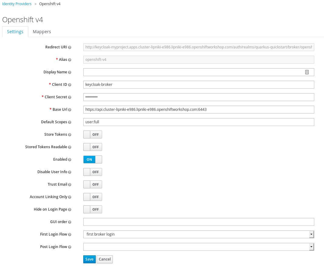 openshift 4 add identity provider